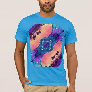 Fractal do oceano camiseta