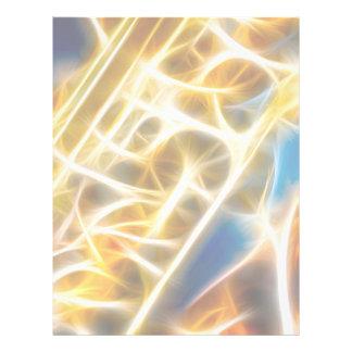 Fractal do saxofone panfleto