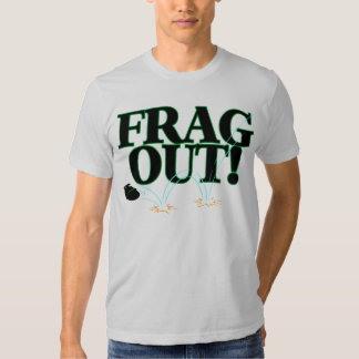 Frag para fora t-shirts
