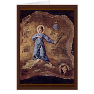 Fragmento santamente do mártir por Longhi Pietro Cartões