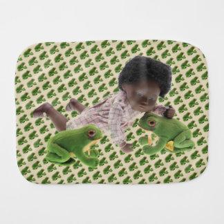 Fralda De Boca 519 Sasha Cara Black bebé Spucktuch