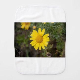 Fralda De Boca Amarelo do cu da flor da margarida