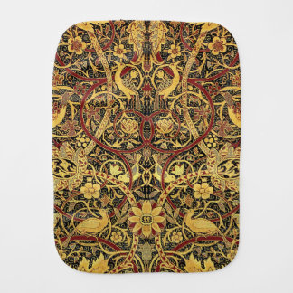 Fralda De Boca Arte floral da tapeçaria de William Morris
