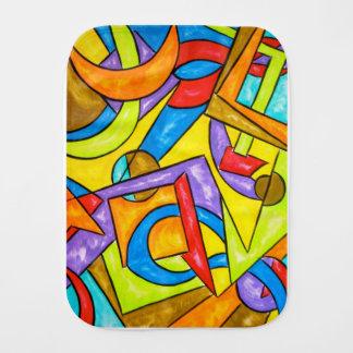 Fralda De Boca Depois da arte do Instrução-Abstrato geométrica