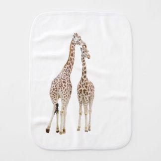 Fralda De Boca Dois girafas