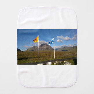 Fralda De Boca duas bandeiras de Scotland
