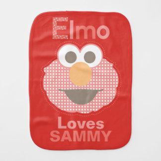 Fralda De Boca Elmo ama-o que | adicionam seu nome