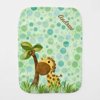 Fralda De Boca Girafa das bolinhas