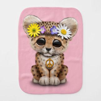 Fralda De Boca Leopardo bonito Cub do Hippie