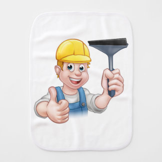 Fralda De Boca Líquido de limpeza de janela com rodo de borracha