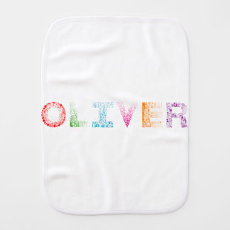 Fralda De Boca Nome de letra de Oliver