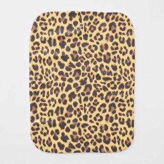 Fralda De Boca Padrões da pele animal do impressão do leopardo