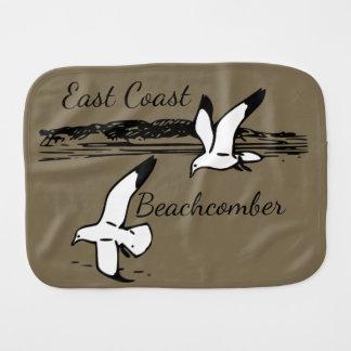 Fralda De Boca Pano do burp do Beachcomber da costa leste da