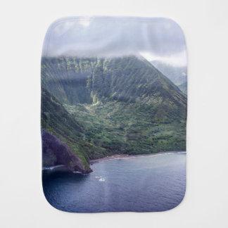 Fralda De Boca Pano escondido do Burp de Havaí