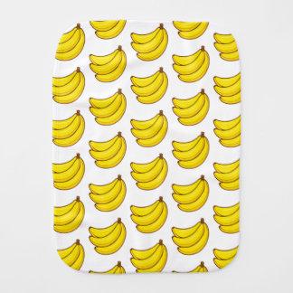 Fralda De Boca Teste padrão bonito da banana