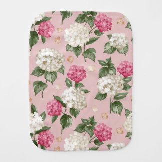 Fralda De Boca Teste padrão sem emenda floral do Hydrangea