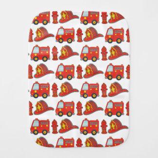 Fralda De Boca Teste padrão temático do sapador-bombeiro