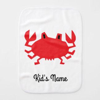 Fralda De Boca Vermelho do caranguejo do mar