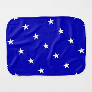 Fraldinha De Boca Bandeira azul Bonnie