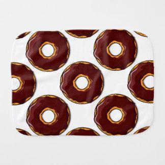 Fraldinha De Boca Design da rosquinha do chocolate dos desenhos