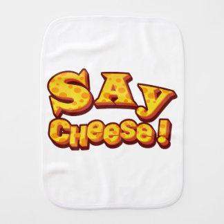 Fraldinha De Boca diga o queijo!