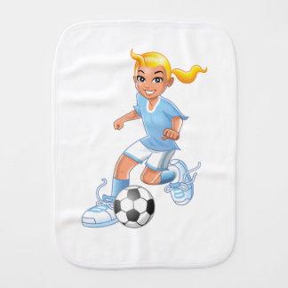 Fraldinha De Boca Estrela de futebol futura das meninas