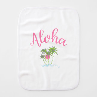 Fraldinha De Boca Férias havaianas do estilo das Aloha-Praias legal