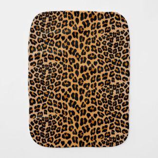 Fraldinha De Boca Impressão do leopardo