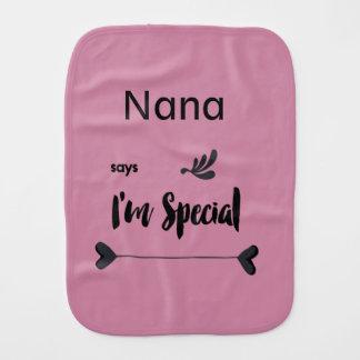 Fraldinha De Boca Nana diz que eu sou especial