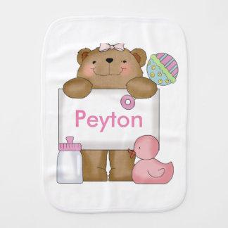 Fraldinha De Boca O urso doce de Peyton