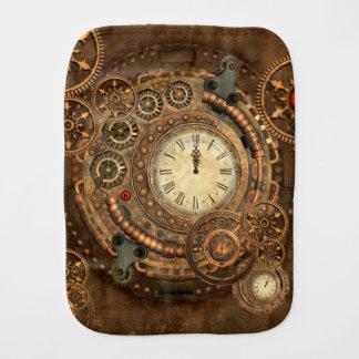 Fraldinha De Boca Steampunk, maquinismo de relojoaria maravilhoso