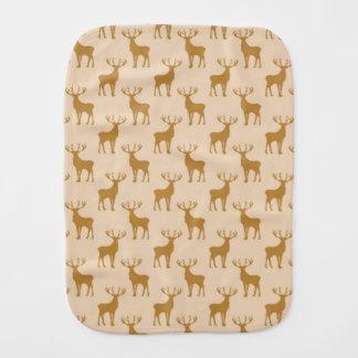 Fraldinha De Boca Teste padrão dos cervos do veado nos marrons