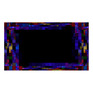 frame-417838 ESQUADRA a cor escura do quadro dos Modelo Cartoes De Visitas