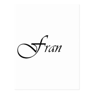 Fran Cartao Postal