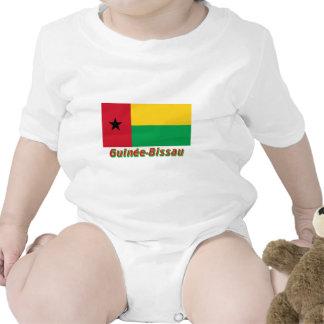 Français de Drapeau Guinée-Bissau avec le nom en Macacão