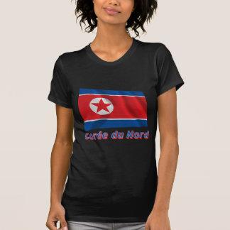 Français de le nom en do avec de Drapeau Corée du  Camisetas