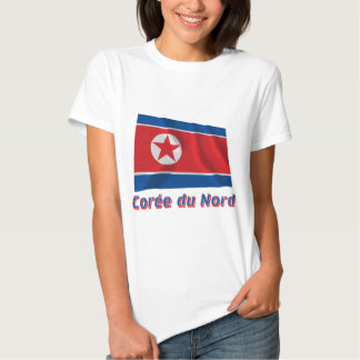 Français de le nom en do avec de Drapeau Corée du Tshirts