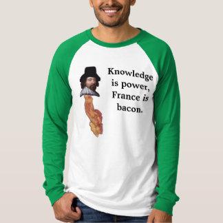 France é bacon camiseta