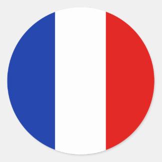 France, France Adesivos Redondos
