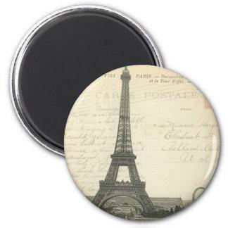 France - Paris - ímã da torre Eiffel Ímã Redondo 5.08cm
