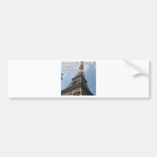 Francês do verão 2016 de Paris France da torre Adesivo Para Carro