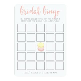 Francês Macarons do cartão de jogo | do Bingo do Convite 12.7 X 17.78cm