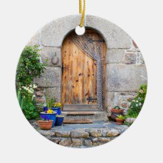Francês rústico Gite no ornamento de Brittany