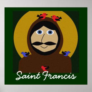 Francis e os pássaros pôster