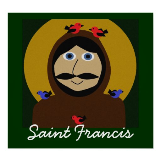 Francis e os pássaros poster