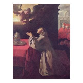 Francisco de Zurbaran- St Bonaventure Cartões Postais