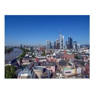 Francoforte Cartão Postal