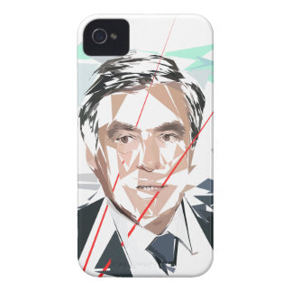 François Fillon antes pénéloppe estraga Capa Para iPhone 4 Case-Mate