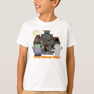 Frankenstein e t-shirt do Dia das Bruxas da mamã Camiseta