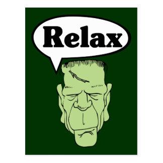Frankenstein relaxa o cartão